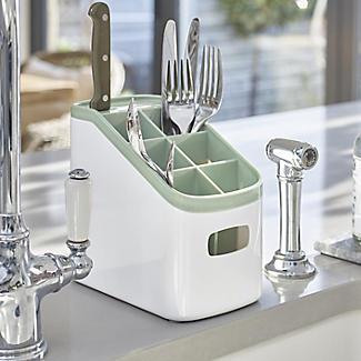 ILO Kitchen Dishrack & Cutlery Drainer Set - Sage Green alt image 3