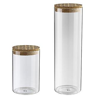 Typhoon 2 Glass Food Storage Canisters Set alt image 2