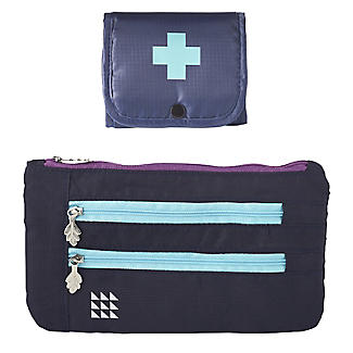 Lakeland Travel Pill Box & Money Wallet Set