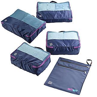 Lakeland Travel Packing Bags 5pc Set