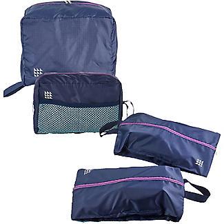 Lakeland Travel Shoes & Toiletries Bags 4pc Set