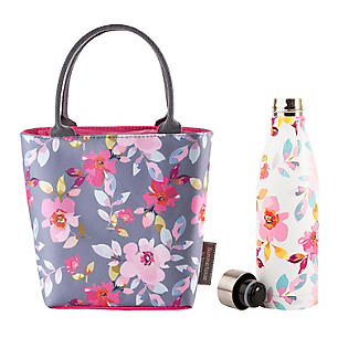 Summerhouse Lunch Bag & Water Bottle Set