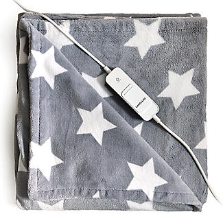 Lakeland Soft & Thick Star Heated Throw