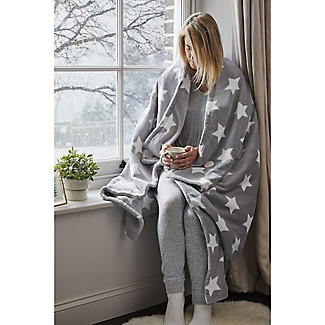 Lakeland Soft & Thick Star Heated Throw  alt image 2