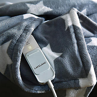 Lakeland Soft & Thick Star Heated Throw  alt image 3