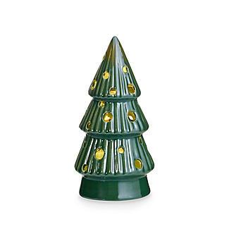 3 LED Ceramic Christmas Trees Decoration alt image 3