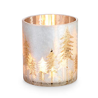 Lakeland Winter Forest Tealight Holder