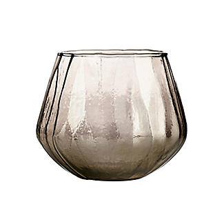 Smoke Glass Tealight Candle Holder alt image 2
