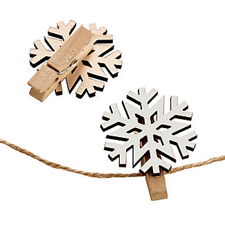 Snowflake Christmas Card Holder alt image 2