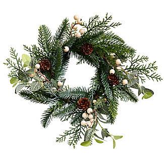 Festive Foliage Centrepiece Christmas Decoration