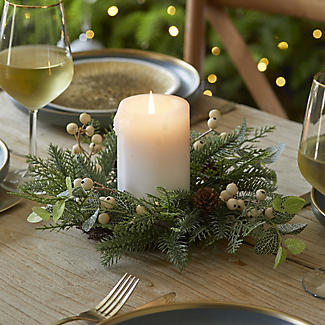 Festive Foliage Centrepiece Christmas Decoration alt image 4