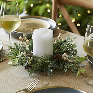 Festive Foliage Centrepiece Christmas Decoration alt image 5