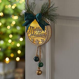 LED Jingle Bells Door Hanger Christmas Decoration alt image 2