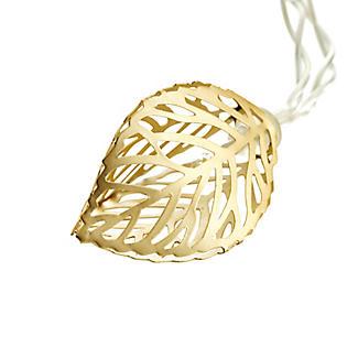2m LED Golden Leaf Light String Christmas Decoration alt image 3