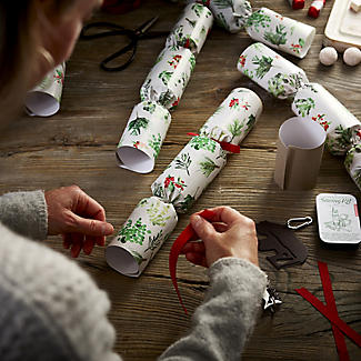 6 Lakeland Fill-Your-Own Evergreen Christmas Crackers alt image 2