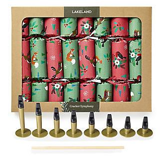 8 Cracker Symphony Handmade Musical Christmas Crackers