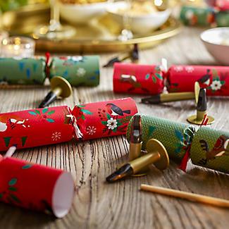 8 Cracker Symphony Handmade Musical Christmas Crackers alt image 2