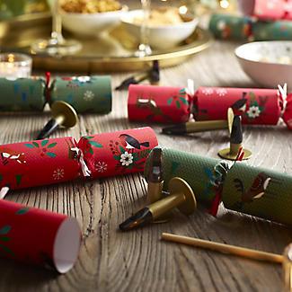 8 Cracker Symphony Handmade Musical Christmas Crackers alt image 3