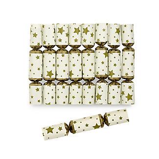8 Gold Star Saucer Crackers