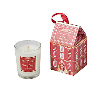 Stoneglow Candles Nutmeg, Ginger & Spice Scented Candle House alt image 2
