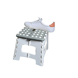 Folding Step Stool – Grey