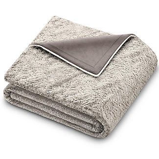 Beurer Furry Grey Heated Throw 130 x 180cm alt image 3