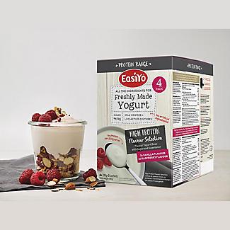 EasiYo Protein Vanilla & Raspberry Yoghurt Mix x 4 alt image 3