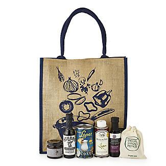 Lakeland Gift for Chefs Jute Hamper Bag