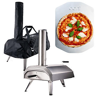 Ooni Karu Outdoor Pizza Oven UU-P0A100 with Cover and Pizza Peel