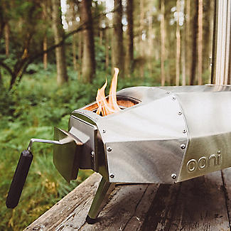 Ooni Karu Outdoor Pizza Oven UU-P0A100 with Cover and Pizza Peel alt image 8