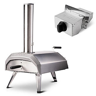 Ooni Karu Outdoor Pizza Oven UU-P0A100 with Gas Burner Attachment