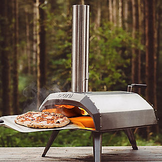 Ooni Karu Outdoor Pizza Oven UU-P0A100 with 10kg Wood Pellets and Cooking With Fire Book alt image 2