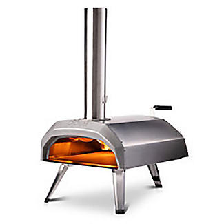 Ooni Karu Outdoor Pizza Oven UU-P0A100 with 10kg Wood Pellets and Cooking With Fire Book alt image 3