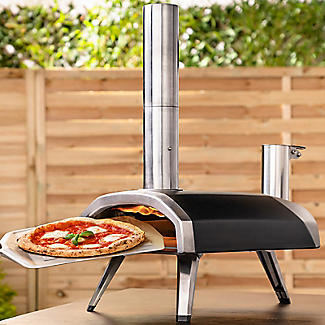 Ooni Fyra Wood-Fired Outdoor Pizza Oven UU-POAD00 with Cover and Pizza Peel alt image 2