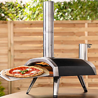 Ooni Fyra Wood-Fired Outdoor Pizza Oven UU-POAD00 with 10kg Wood Pellets and Cookbook alt image 2