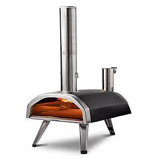 Ooni Fyra Wood-Fired Outdoor Pizza Oven UU-POAD00 with 10kg Wood Pellets and Cookbook alt image 6
