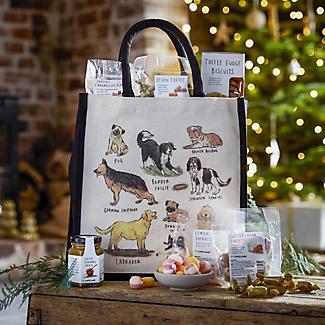 Lakeland Dog Breeds Christmas Hamper Tote alt image 2