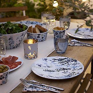 Lakeland Hana Garden Melamine 12 Piece Dining Set alt image 2