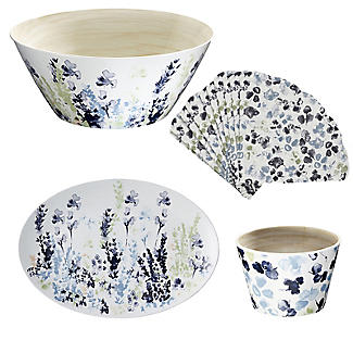 Lakeland Hana Garden Melamine Serving Set