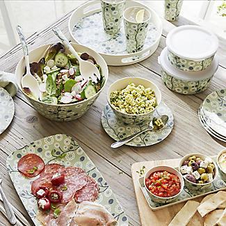 Lakeland Cherry Flower Bamboo Salad Set alt image 2