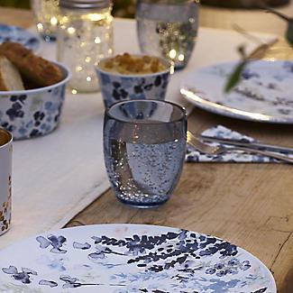 4 Lakeland Smoky Blue Acrylic Tumblers Set alt image 2
