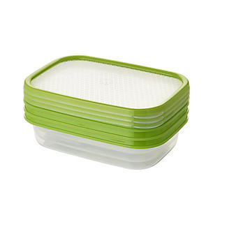 Lakeland 3pc Colour Match Lidded Food Storage Containers 800ml  alt image 7