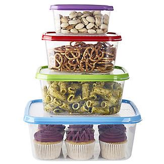 Lakeland 4pc Colour Match Lidded Food Storage Containers Set alt image 3