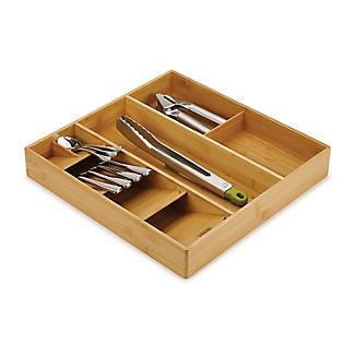 Joseph Joseph Drawerstore Bamboo Compact Cutlery & Utensil Organiser alt image 6
