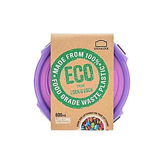 LocknLock Eco Round Food Storage Container 600ml alt image 8