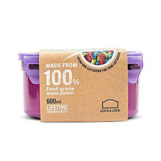 LocknLock Eco Round Food Storage Container 600ml alt image 9