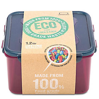 LocknLock Eco Square Food Storage Container 1.2L alt image 10