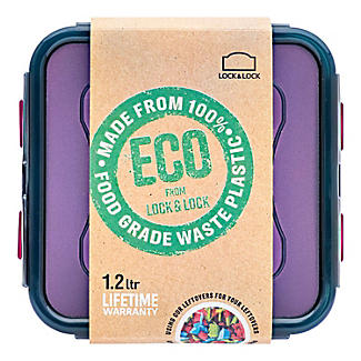 LocknLock Eco Square Food Storage Container 1.2L alt image 6