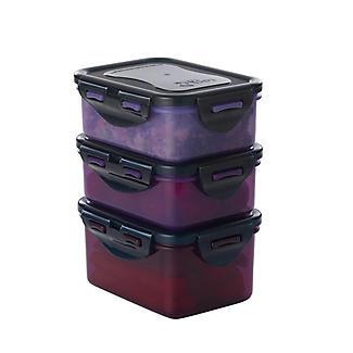 Lock & Lock Eco Square Food Storage Containers – 3-Piece Set  alt image 6