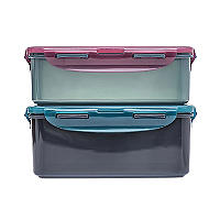 LocknLock Eco Oblong Food Storage Containers – 2-Piece Set
